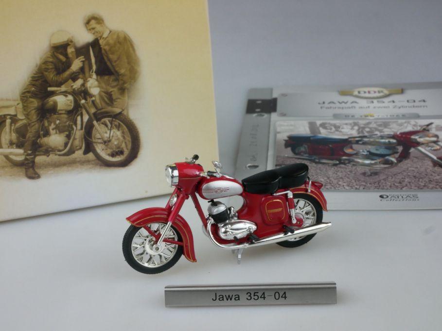 Atlas 1/24 Jawa 354-04 Motorrad motorcycle DDR Motorräder + Box 112279