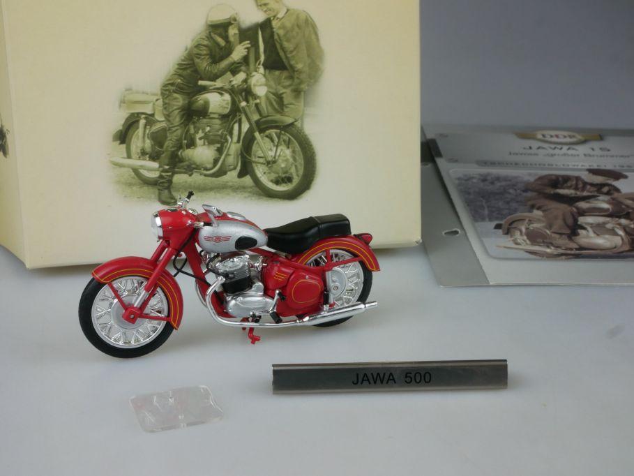 Atlas 1/24 Jawa 500 15 Motorrad motorcycle DDR Motorräder Box 112381