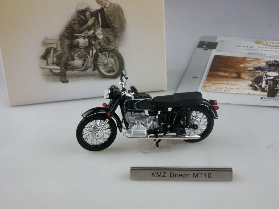 Atlas 1/24 KMZ Dnepr MT10 Motorrad motorcycle DDR Motorräder Box 112385