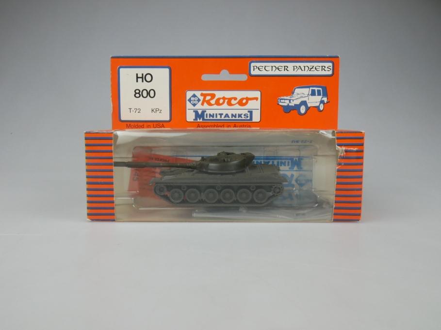Roco 1/87 H0 800 Petner Panzers Minitanks Tank Militär w/ Box 112322