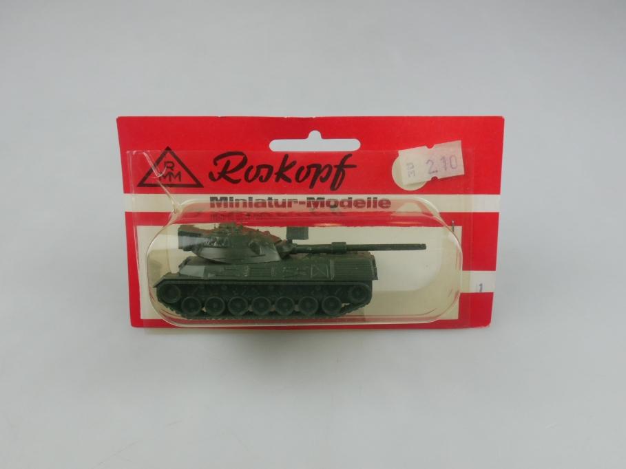 RMM 1/100 Roskopf mittlerer Panzer Leopard Tank Militär w/ Box 112325