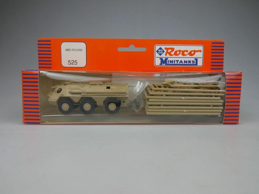 Roco 1/87 H0 Minitanks ABC-Fuchs 525 US Desert Storm w/ Box 112423