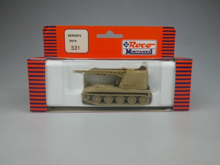Roco 1/87 H0 Minitanks Tank Bergepanzer M578 531 US Desert Storm w/ Box 112476