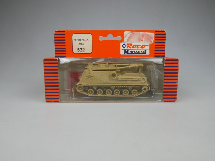 Roco 1/87 H0 Minitanks Tank Bergepanzer M88 532 US Desert Storm w/ Box 112477