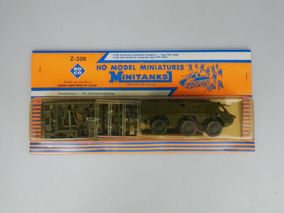 Roco 1/87 H0 Minitanks 306 Transportpanzer 1 TPZ1 6x6 Bundeswehr w/ Box 112501