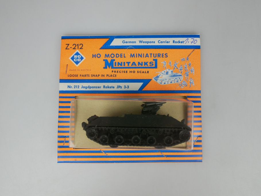Roco 1/87 H0 Minitanks 212 Jagdpanzer Rakete JPz 3-3  Bundeswehr w/Box 112506