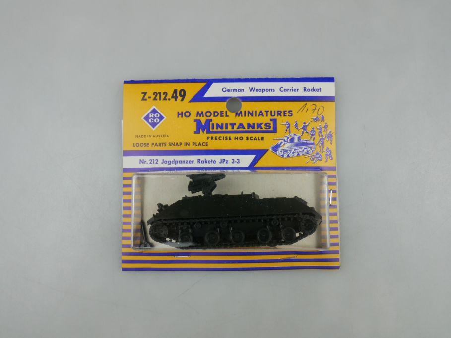 Roco 1/87 H0 Minitanks 212.49 Jagdpanzer Rakete JPz 3-3  Bundeswehr w/Box 112507
