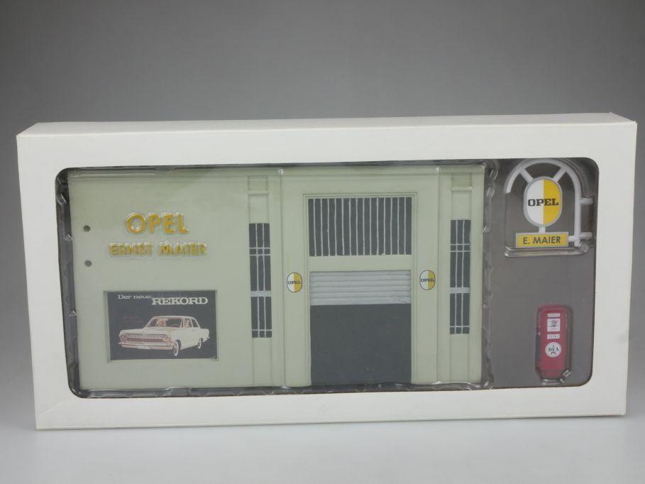 1/43 Werkstatt Diorama EAGLEMOSS OPEL ERNST MAIER car service 112431