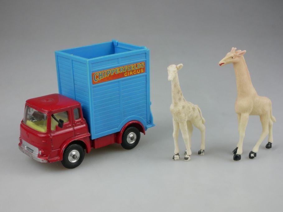 Corgi Toys 503 Chipperfields Circus Bedford Tractor Transport Giraffen 112432