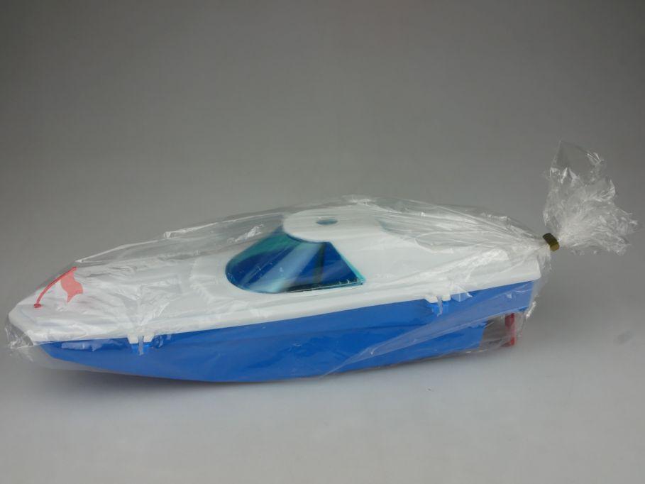Spielzeugland DDR Hochseejacht 28cm Boot Motorboot windup  112436