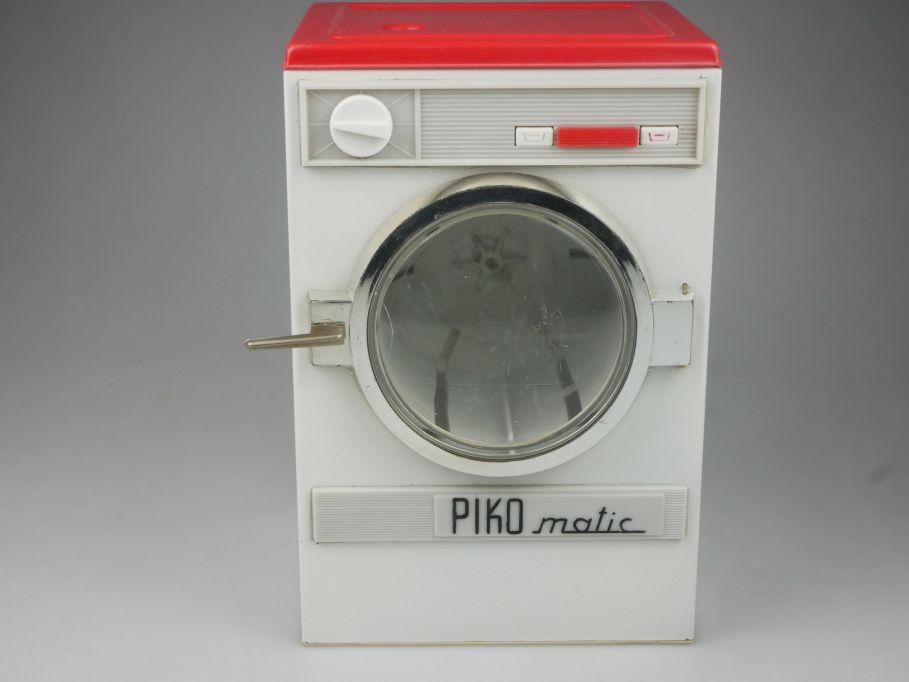PIKO matic Waschmaschine 21,7cm hoch Puppen Spielzeug VEB DDR 112558