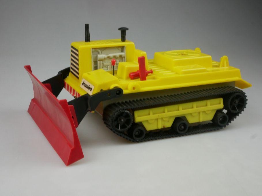 Piko Raupe Jumbo 1:25 vintage 1975-85 Bulldozer Dozer toy DDR VEB 112560