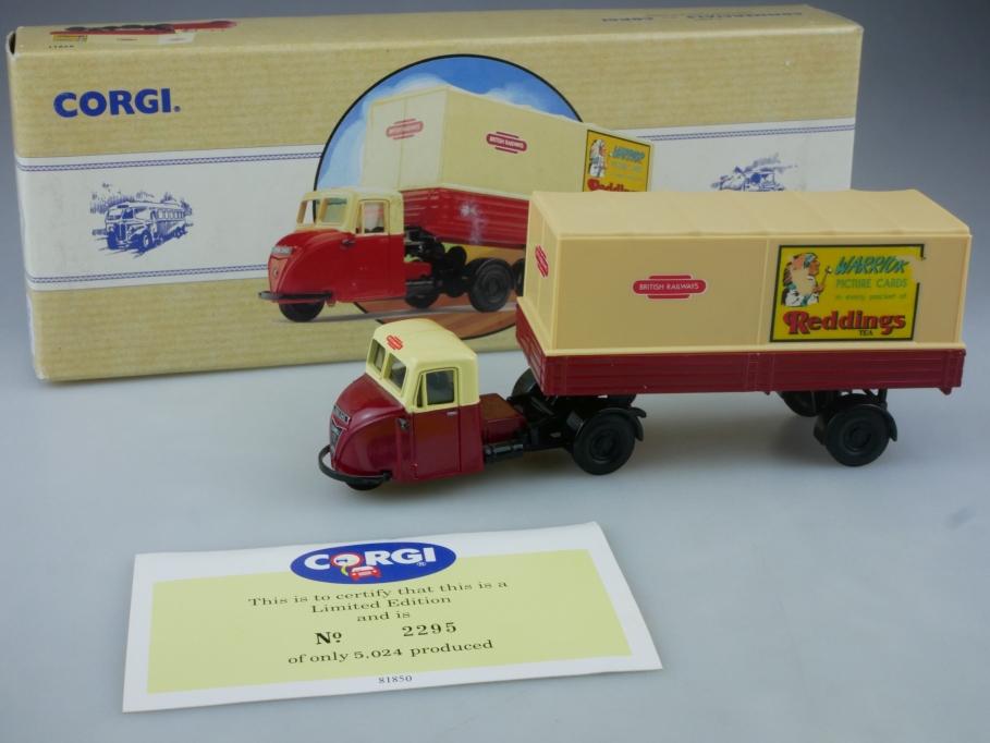 Corgi 1/50 Scammell Scarab British Railways truck 97911 Box 112566
