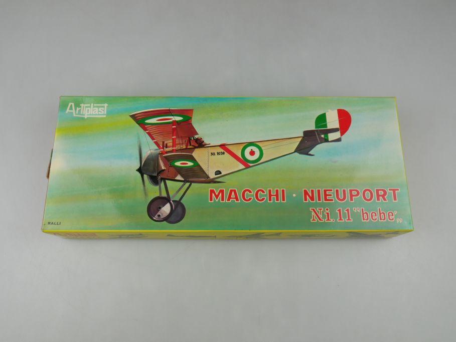 Artiplast 1/50 Macchi Nieuport Ni.11 bebe 1908 plane model kit w/ Box 112635