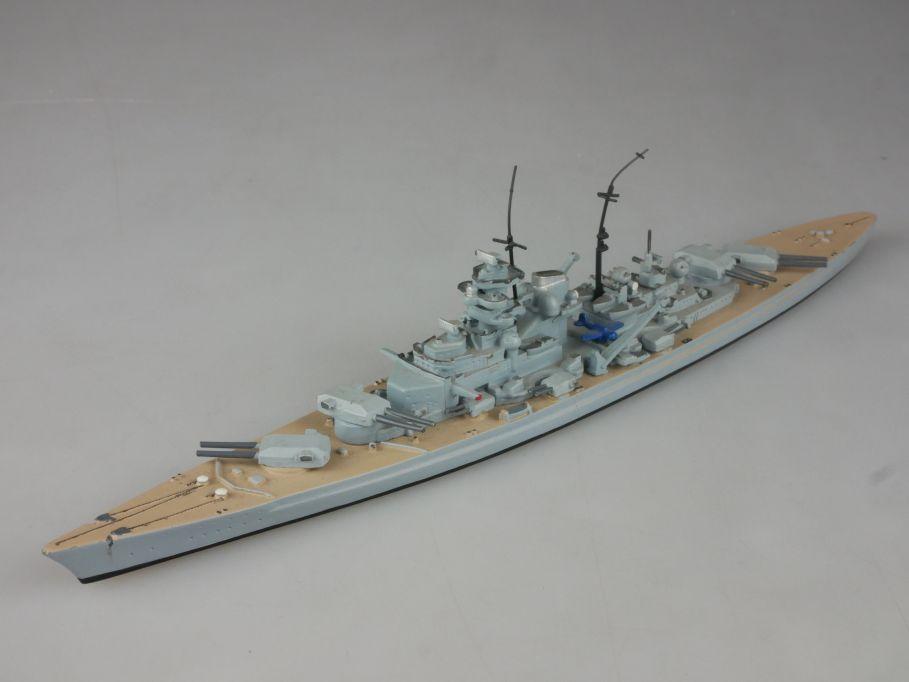 Hansa S 100 1:1250 Bismarck Dt. Schlachtschiff Metall Schiff battleship 112658