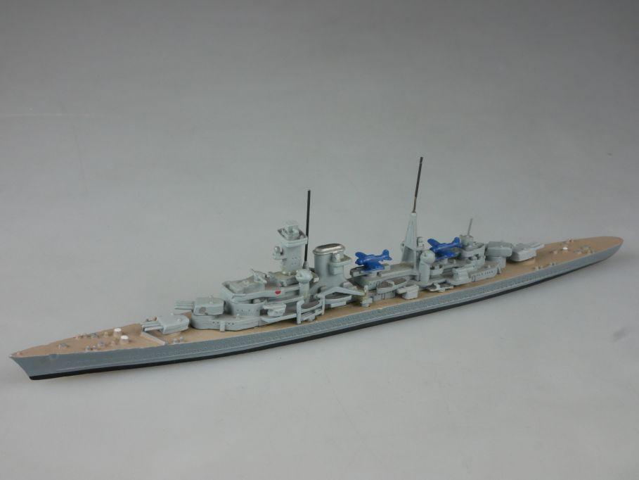 Hansa S 195/1 1:1250 schwerer Kreuzer Lützow Metall Schiff battleship 112659