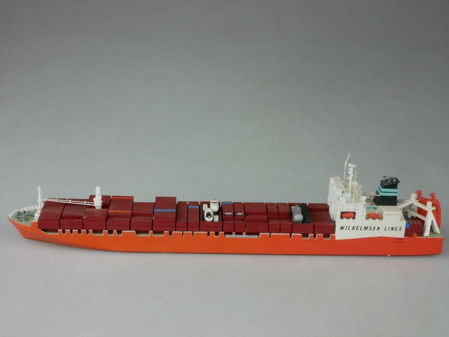 GM CARAT 1:1250 Modell 008 TEXAS Wilhelmsen Lines Containerschiff 112618