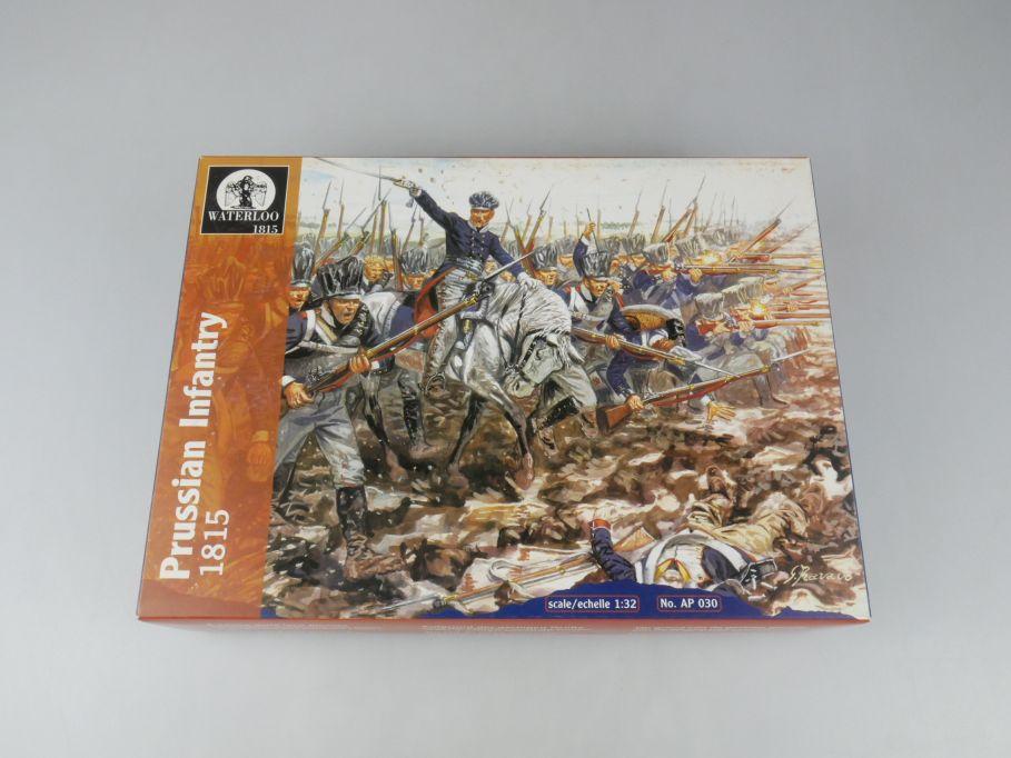 Waterloo 1815 1/32 Prussian Infantry 17 Stk. AP 030 figure kit w/Box 112676