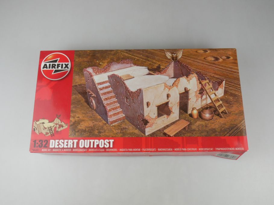Airfix 1/32 Desert Outpost Außenposten Haus A06381 model kit + Box 113059