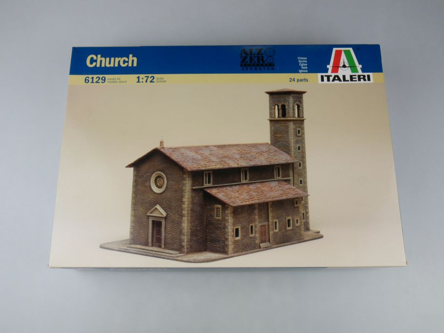 Italeri 1/72 Church Kirche 6129 Haus model kit w/Box 112681