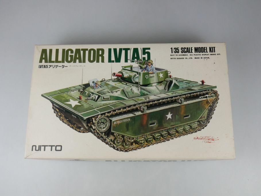 Nitto 1/35 Alligator LVT(A)5 Panzer Tank model kit w/Box 112686