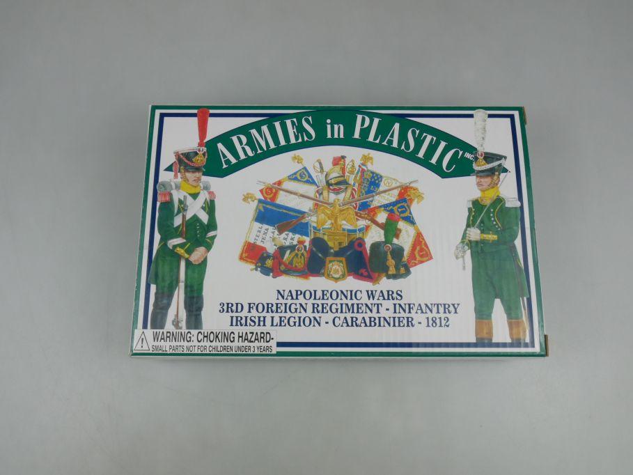 Armies in Plastic 1/32 Irish Legion Carabinier 1812 5456 figure kit w/Box 112721