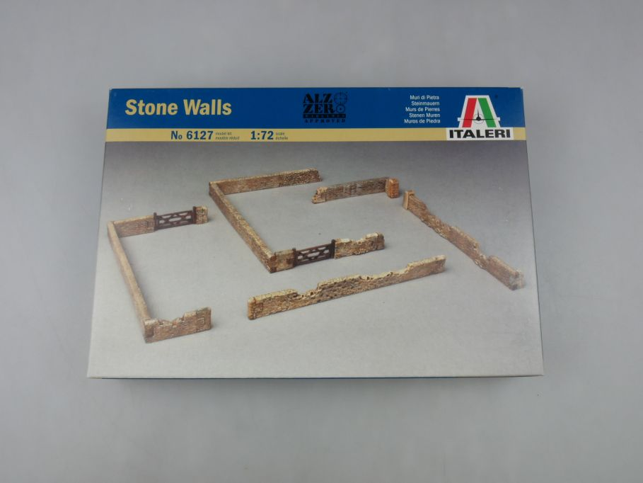 Italeri 1/72 Stone Walls Steinmauern No 6127 model kit w/Box 112776
