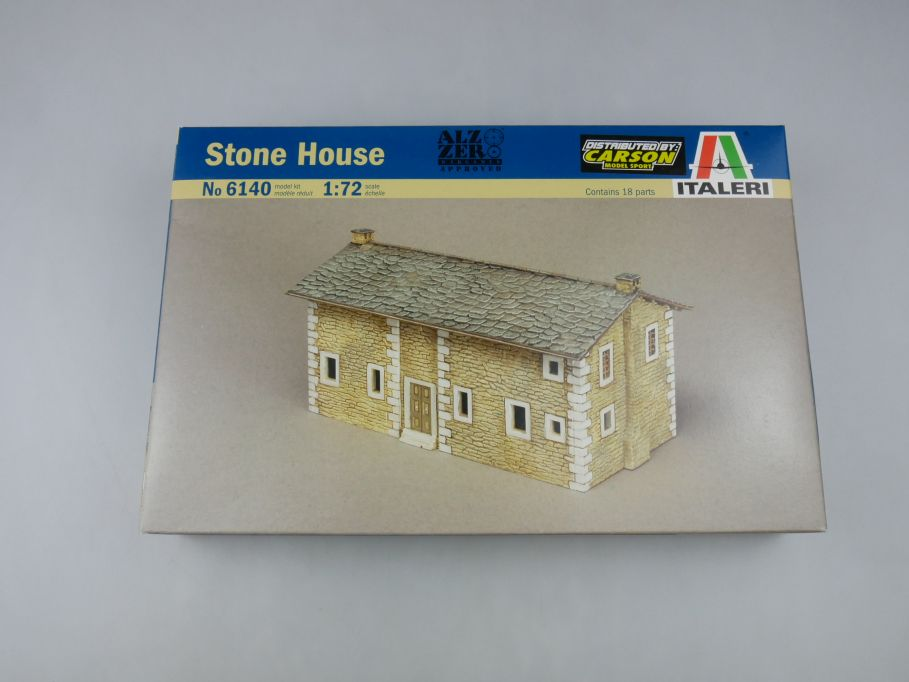 Italeri 1/72 Stone House Steinhaus No 6140 model kit w/Box 112778