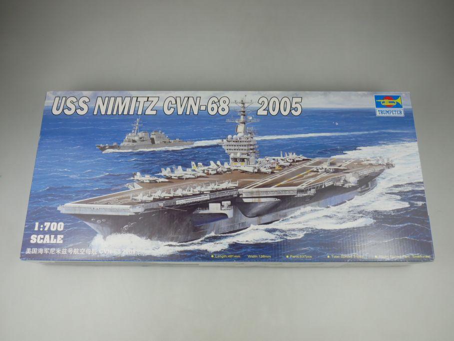 Trumpeter 1/700 USS Nimitz CVN-68 2005 ship kit w/Box 112782
