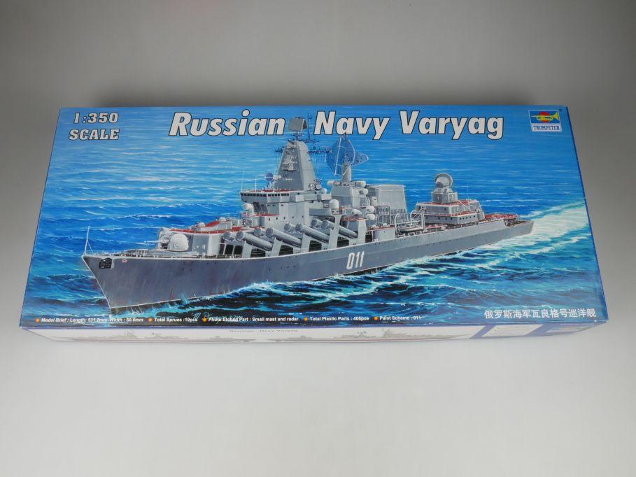Trumpeter 1/350 Russian Navy Varyag ship kit w/Box 112783