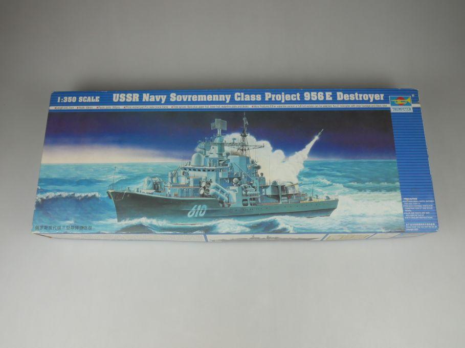 Trumpeter 1/350 USSR Navy Soremenny 956 E Destroyer 04515 ship kit w/Box 112787