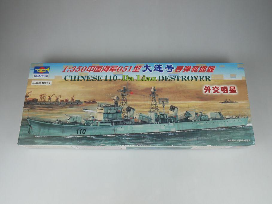 Trumpeter 1/350 Chinese 110- Da Lian Destroyer 04503 ship kit w/Box 112788