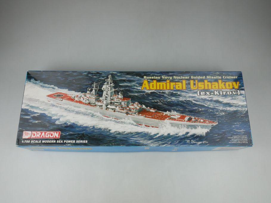Dragon 1/700 Russian Navy Admiral Ushakov (ex-Kirov) 7037 ship kit w/Box 112790