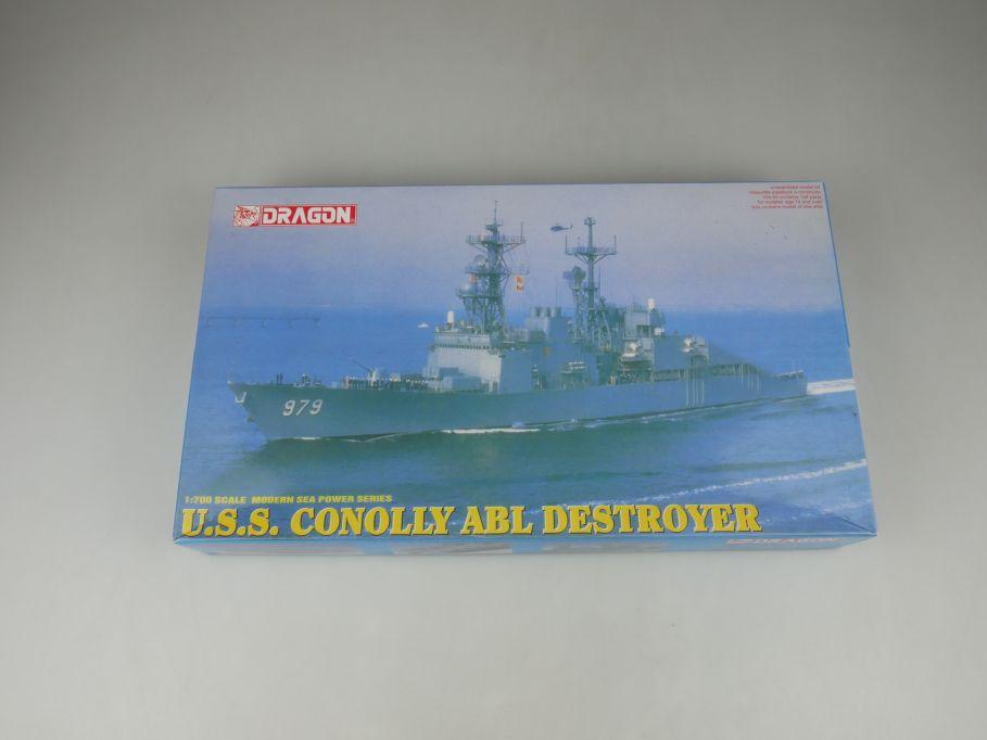 Dragon 1/700 U.S.S. Conolly ABL Destroyer 7025 ship kit w/Box 112793