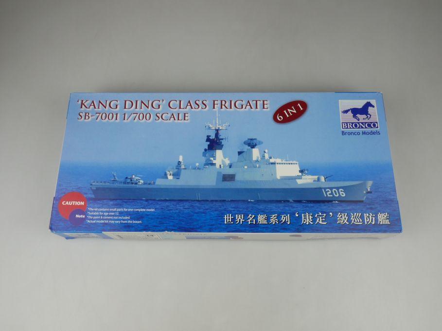 Bronco 1/700 Kang Ding Class Frigate SB-7001 ship kit w/Box 112812