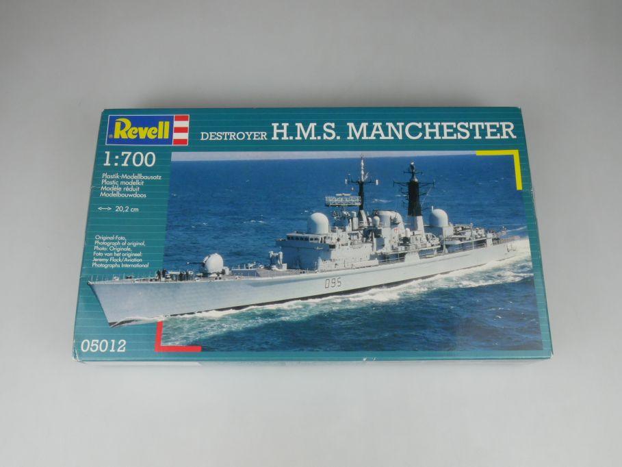 Revell 1/700 Destroyer H.M.S. Manchester 05012 ship kit w/Box 112815