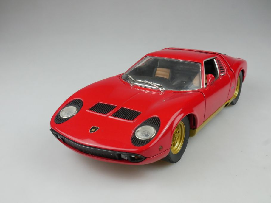 Anson 1/18 Lamborghini Miura diecast model 112862