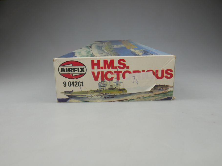 Airfix 1/600 H.M.S. Victorious No 9 04201 ship kit w/Box 112823