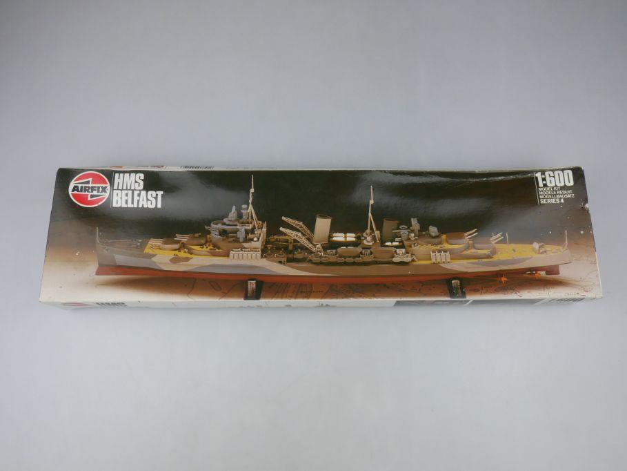 Airfix 1/600 HMS Belfast No 04212 ship kit w/Box 112824