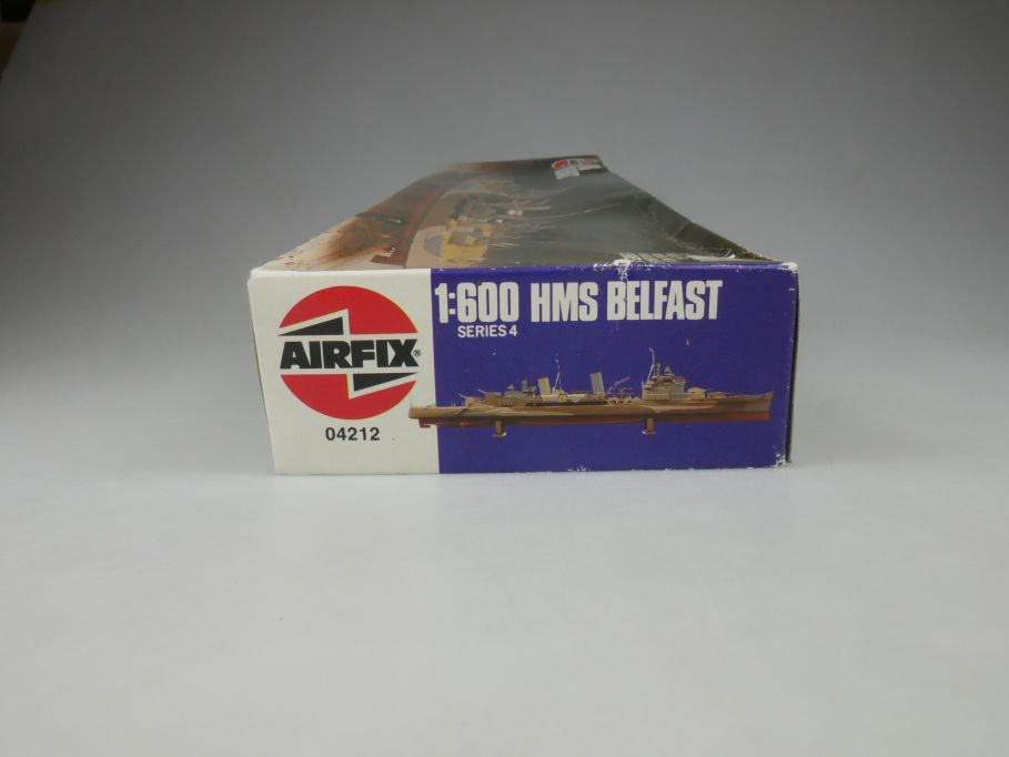 Airfix 1/600 HMS Belfast No 04212 ship kit w/Box 112824