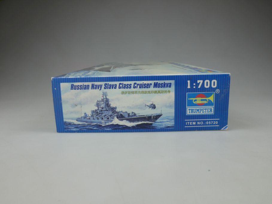 Trumpeter 1/700 Russian Navy Slava Cruiser Moskva No 05721 ship kit w/Box 112825