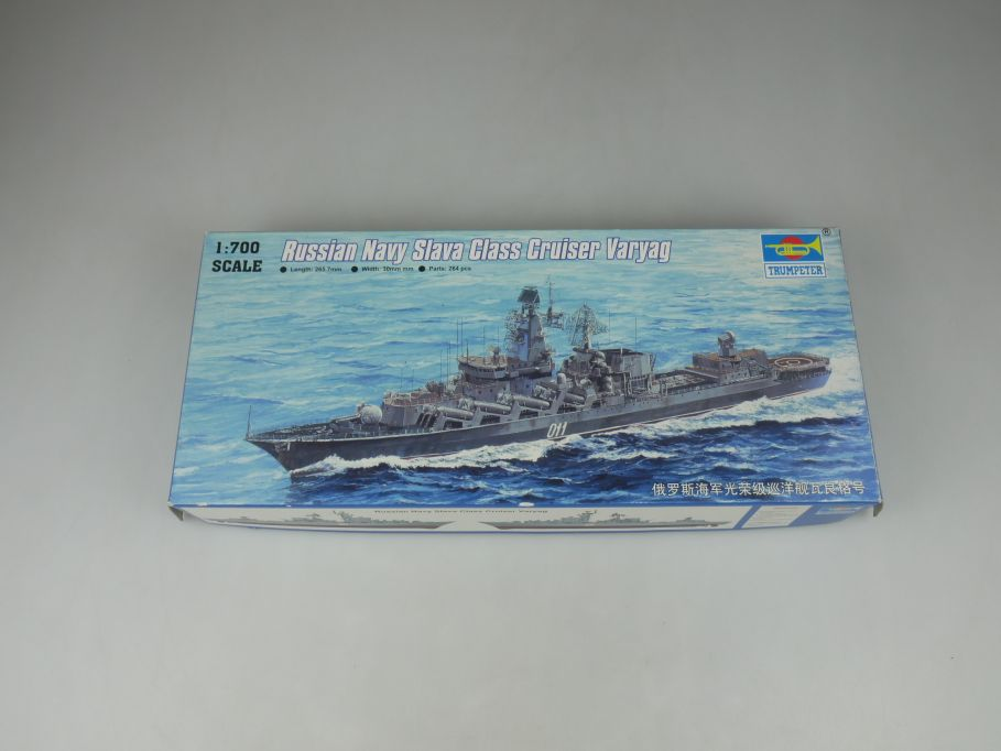 Trumpeter 1/700 Russian Navy Slava Cruiser Varyag No 05720 ship kit w/Box 112826