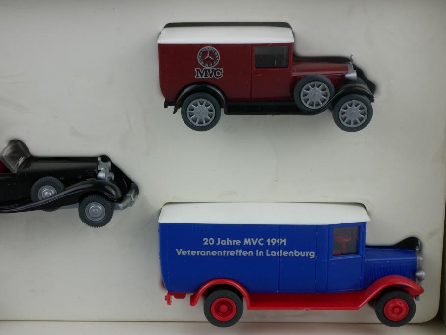 Roskopf H0 Mercedes Benz Museum 20 Jahre MVC 1991 + Box 112802