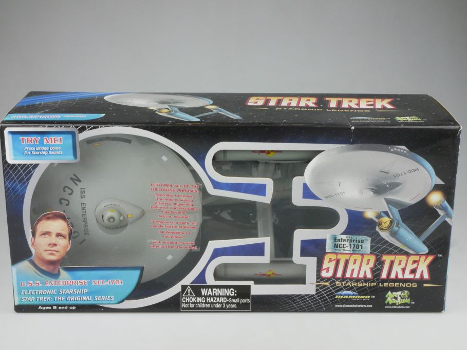 Star Trek USS Enterprise NCC-1701 from Mirror Mirror Diamond Select + Box 112868