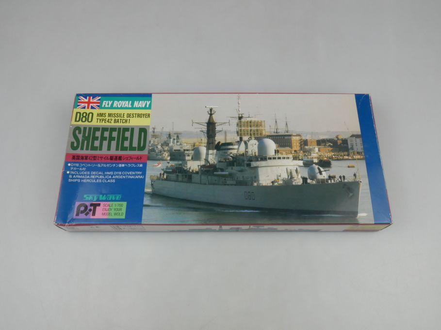 Sky Wave 1/700 D80 Sheffield HMS Missile Destroyer Type42 SP2 kit w/Box 112835