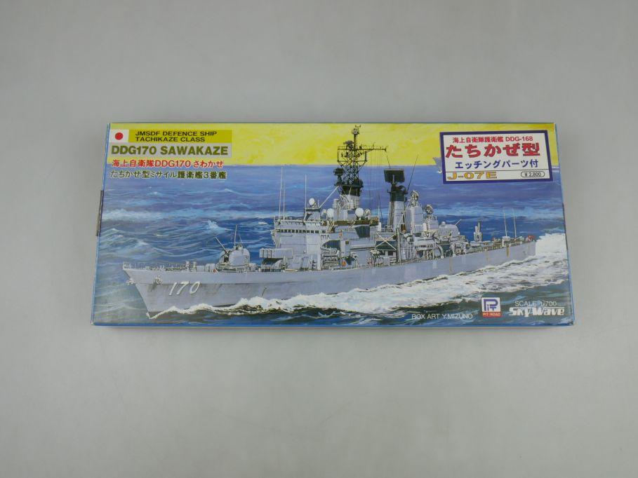 Sky Wave 1/700 JMSDF Defence Tachikaze Sawakaze DDG170 Fotoätzteile! Box 112840