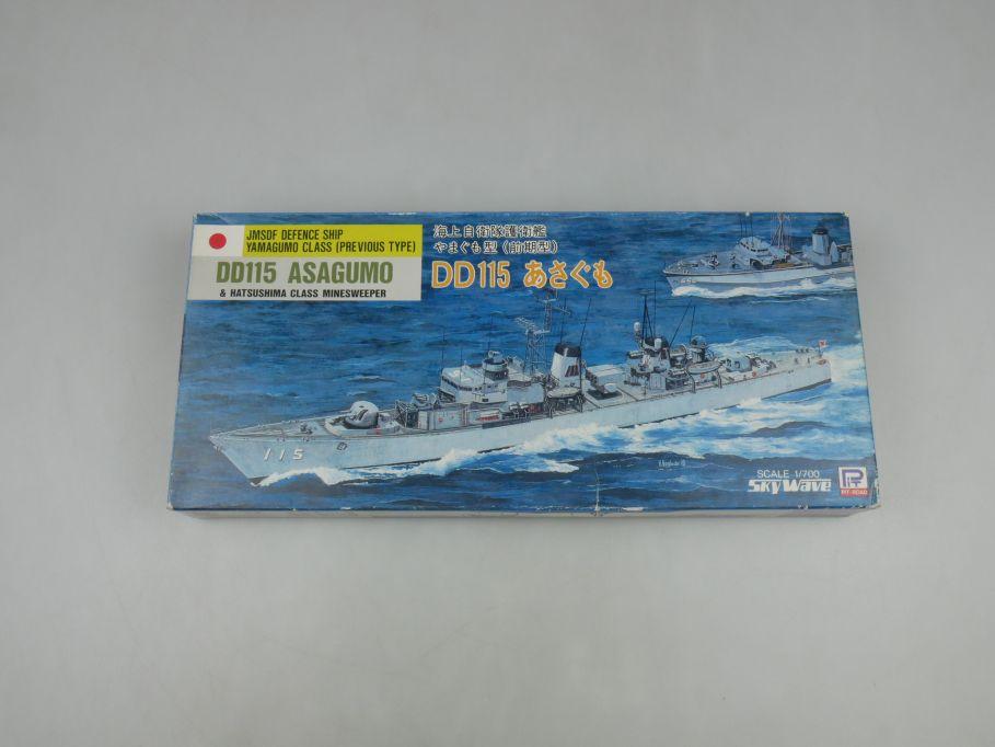 Sky Wave 1/700 JMSDF Defence Yamagumo Class DD115 Asagumo J-2 kit w/Box 112841