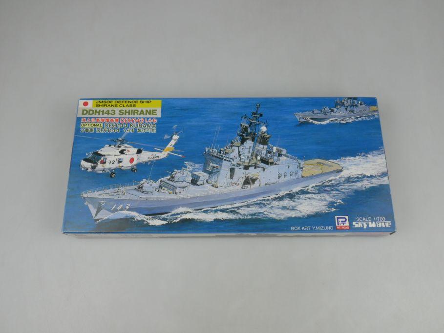 Sky Wave 1/700 JMSDF Defence Shirane Class DDH143 J-6 kit w/Box 112842