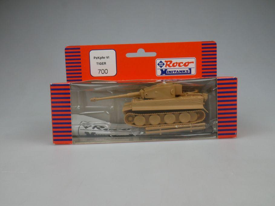 Roco 1/87 H0 PzKpfw VI Tiger 700 Wehrmacht Minitanks Tank Militär w/Box 112884