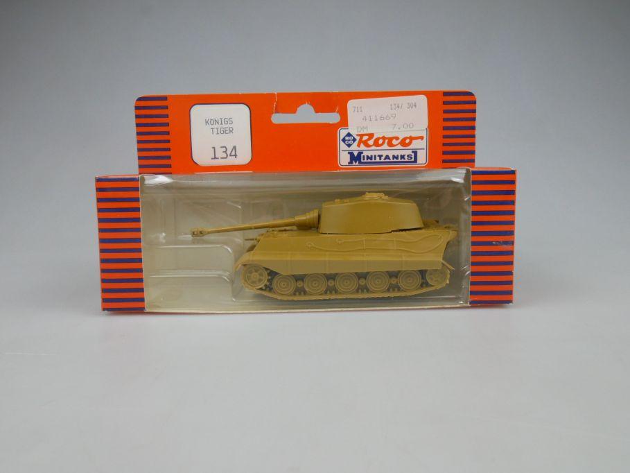 Roco 1/87 H0 Königstiger 134 Wehrmacht Minitanks Tank Militär w/Box 112888